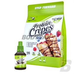 Sport Definition Protein Crêpes - 1kg + That's the Flavour Drops - 30ml GRATIS