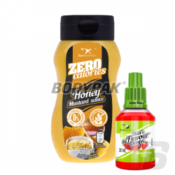 Sport Definition Sauce ZERO [Honey Mustard] - 320ml + That's the Flavour Drops - 30ml (06.2018) GRATIS!