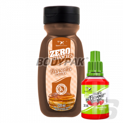 Sport Definition Sauce ZERO [Pancake] - 320ml + That's the Flavour Drops - 30ml (06.2018) GRATIS!