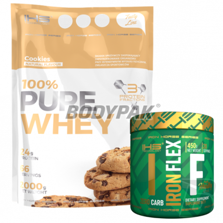 IHS 100% PURE WHEY [Tasty Line] - 2000g + Iron Flex 225g