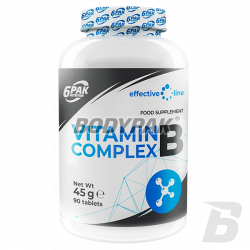 Effective Line Vitamin B Complex 45g 90 tabl.
