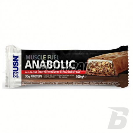USN Muscle Fuel Anabolic Bar - 100g