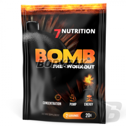 7Nutrition BOMB Pre-Workout [sasz.] - 20g