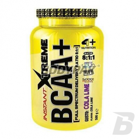 4+ Nutrition Instant Xtreme BCAA+ - 500g