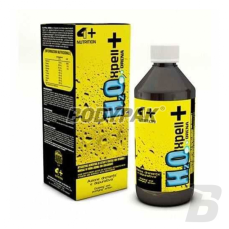 4+ Nutrition H2O Xpell+Drena - 500ml