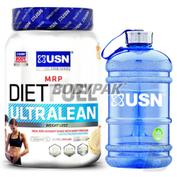 USN Diet Fuel ULTRALEAN - 2kg + Blue Water Jug 2,2L GRATIS