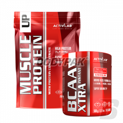 Activlab Muscle Up Protein - 2000g + Activlab BCAA Xtra INSTANT - 500g