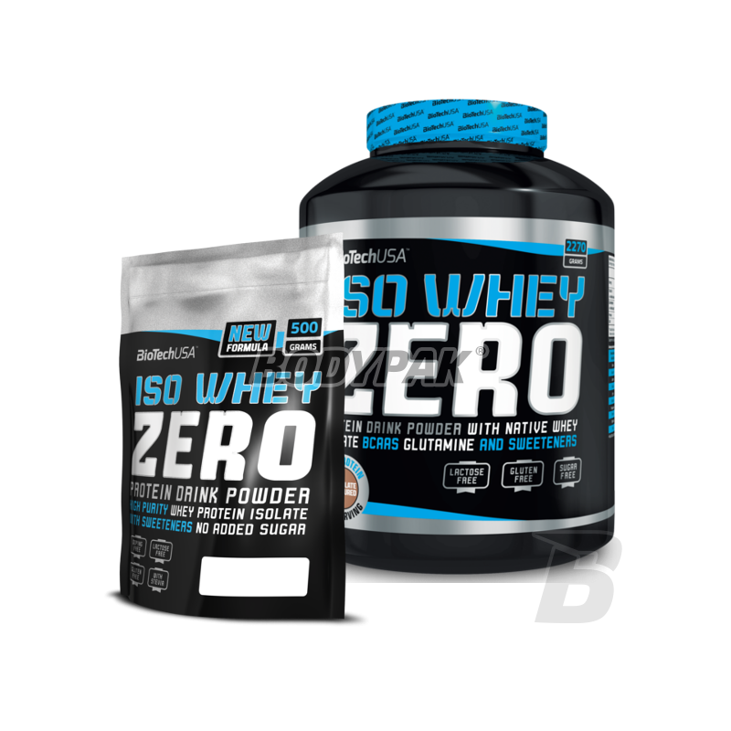 biotech iso whey zero 2270g iso whey zero 500g 249 00 pln supplements and nutrition store. Black Bedroom Furniture Sets. Home Design Ideas
