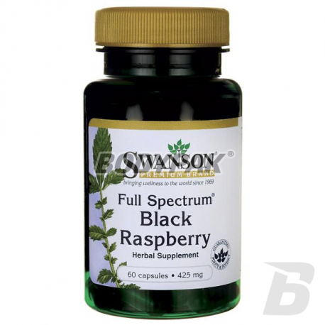 Swanson FS Black Raspberry 425mg - 60 kaps.
