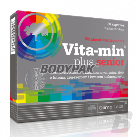 Olimp Vita-Min Plus Senior - 30 kaps.