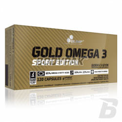 Olimp Gold Omega 3 Sport Edition - 120 kaps.