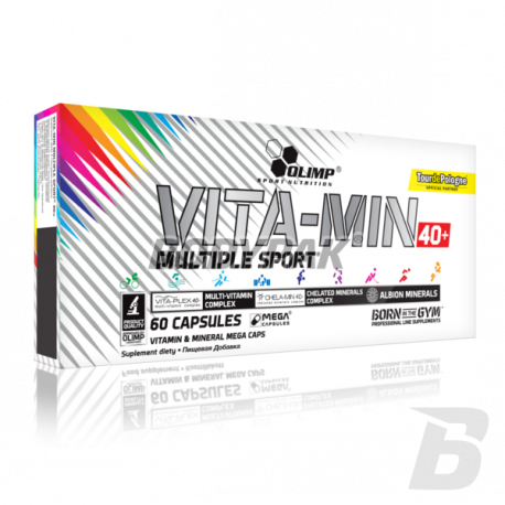 Olimp VITA-MIN Multiple Sport 40+ - 60 kaps.
