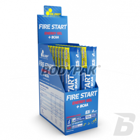 Olimp Fire Start Energy Gel + BCAA - 36g