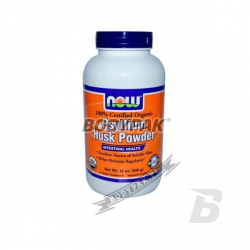 NOW Foods Psylium Husk Fiber Powder - 340g
