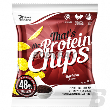 Sport Definition That's The Protein CHIPS [barbecue] - 25g