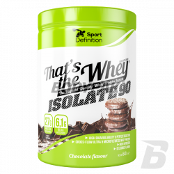 Sport Definition That's the Whey ISOLATE - 600-640g