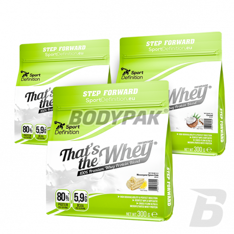 Sport Definition That's The Whey - 3 x 300g