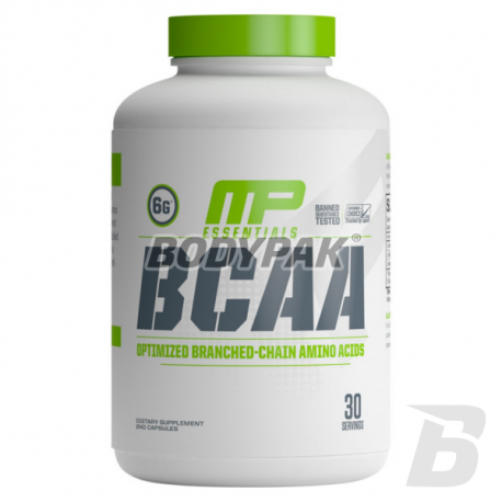 MusclePharm BCAA 3:1:2 - 240 kaps.