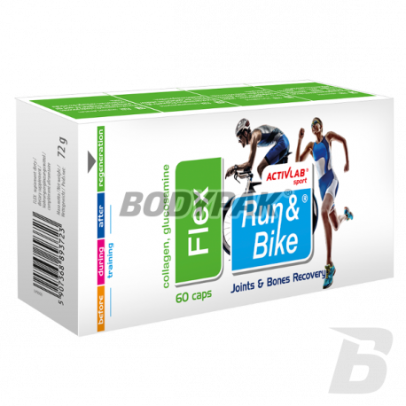 Activlab Run & Bike Flex - 60 kaps.