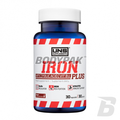UNS Iron Plus - 30 kaps.