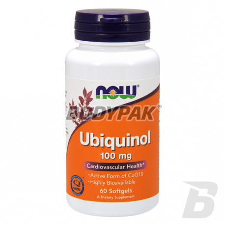 NOW Foods Ubiquinol 100mg - 60 kaps.