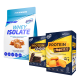 6PAK Nutrition Whey Isolate - 1800g + [My Sweets Cookies - 130g & Wafers Choco Coating - 90g - GRATIS]