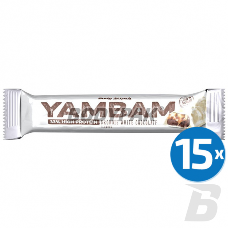 Body Attack YamBam - 15x 80g