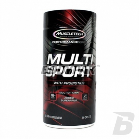 MuscleTech Multi Sport with Probiotics - 90 kaps.