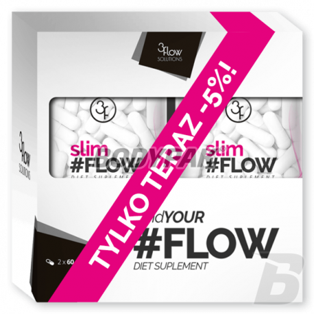 3Flow Solutions SlimFLOW 2-pak - 2 x 60 kaps.