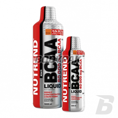 Nutrend BCAA Liquid 80000 - 1000ml + 500ml