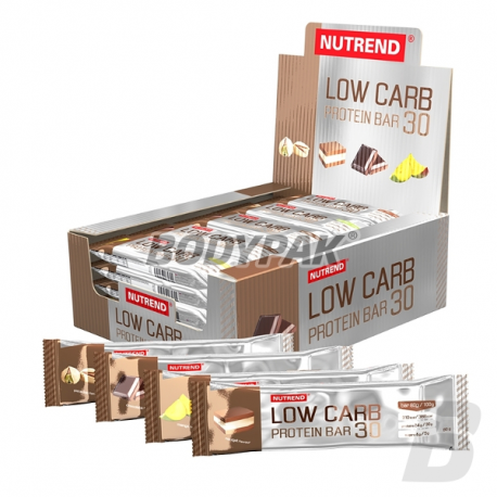 Nutrend Low Carb Protein bar - 24x 80g