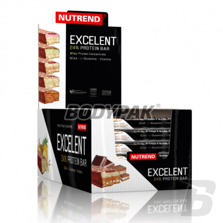 Nutrend Excelent Protein Bar DOUBLE - 30 x 40 g