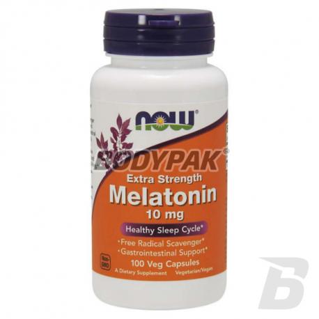 NOW Foods Melatonin Extra Strength 10 mg - 100 kaps.