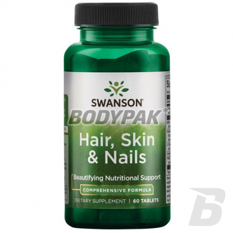 Swanson Hair, Skin & Nails - 60 tabl.