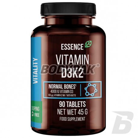 Essence Nutrition Vitamin D3K2 - 90 tabl.