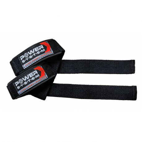 Power System Paski Treningowe Power Straps 3400 [Black/Red] - 1 komplet