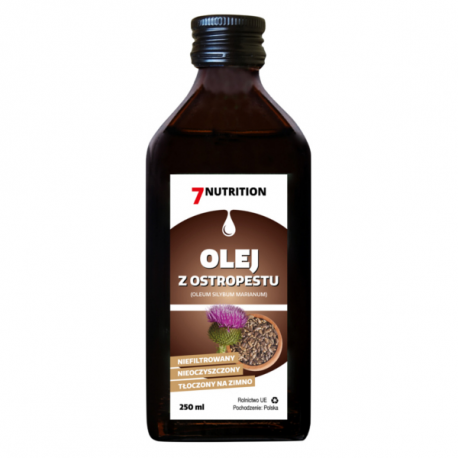 7Nutrition Olej z Ostropestu - 250ml