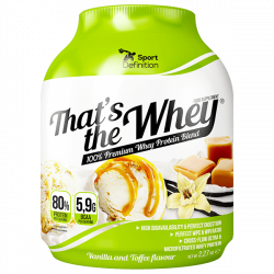Sport Definition That's The Whey - 2270g