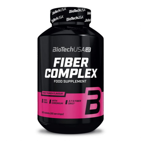 BioTech Fiber Complex [FOR HER] - 120 tabl. do żucia