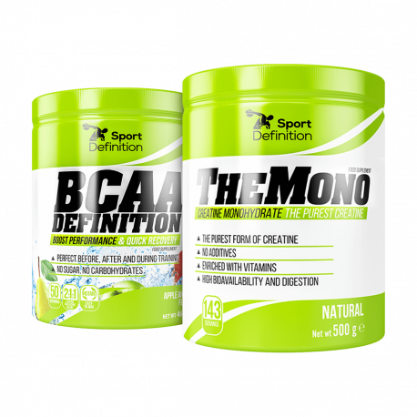 Sport Definition BCAA Definition - 465 g + The Mono - 500 g