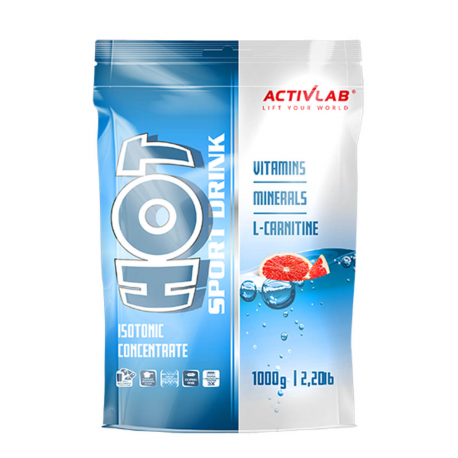 Activlab HOT Sport Drink - 1000g