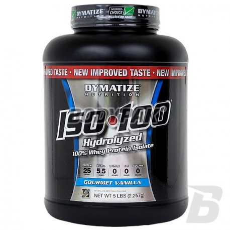DYMATIZE Iso 100 Protein - 2,27kg