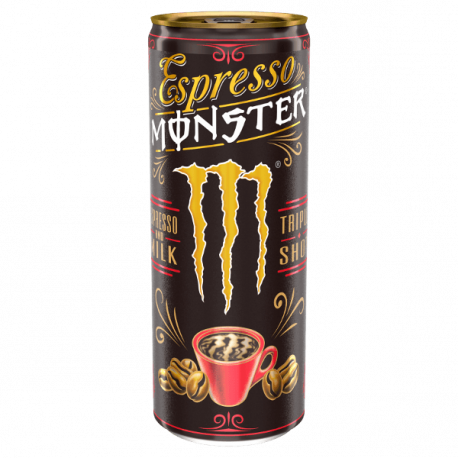 Espresso Monster - Espresso and Milk - 250ml
