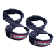 Power System Lifting Straps FIGURE 8 [Black/Red] - 1 para