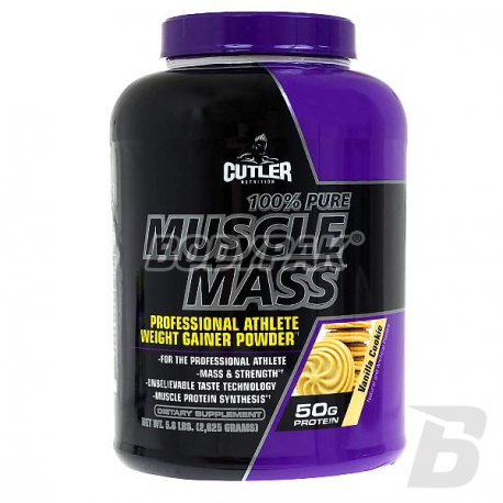 Jay Cutler 100% Pure Muscle Mass - 2625g