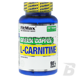 FitMax L-Carnitine Green Coffe - 90 kaps.