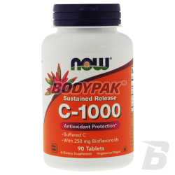NOW Foods Vitamin C-1000 Complex Buffered - 90 tabl.