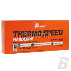 Olimp Thermo Speed Hardcore - 120 kaps.