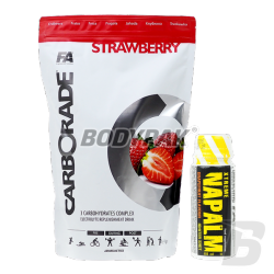 FA Nutrition Carborade - 1kg + FA Nutrition Xtreme Napalm Shot (60ml) - 1 amp.
