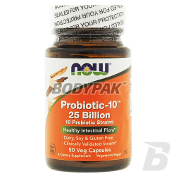 NOW Foods Probiotic-10 25 Billion - 50 kaps.